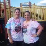 Joanna Prihoda-Rogers and Meagan Semora — Lickskillet 5K Color Run