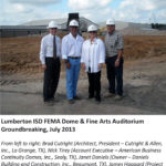 Lumberton ISD FEMA Dome & Fine Arts Auditorium Grounbreaking image