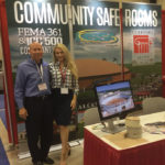 Brad and Carly at the Texas Emergency Management Conference in San Antonio, Texas